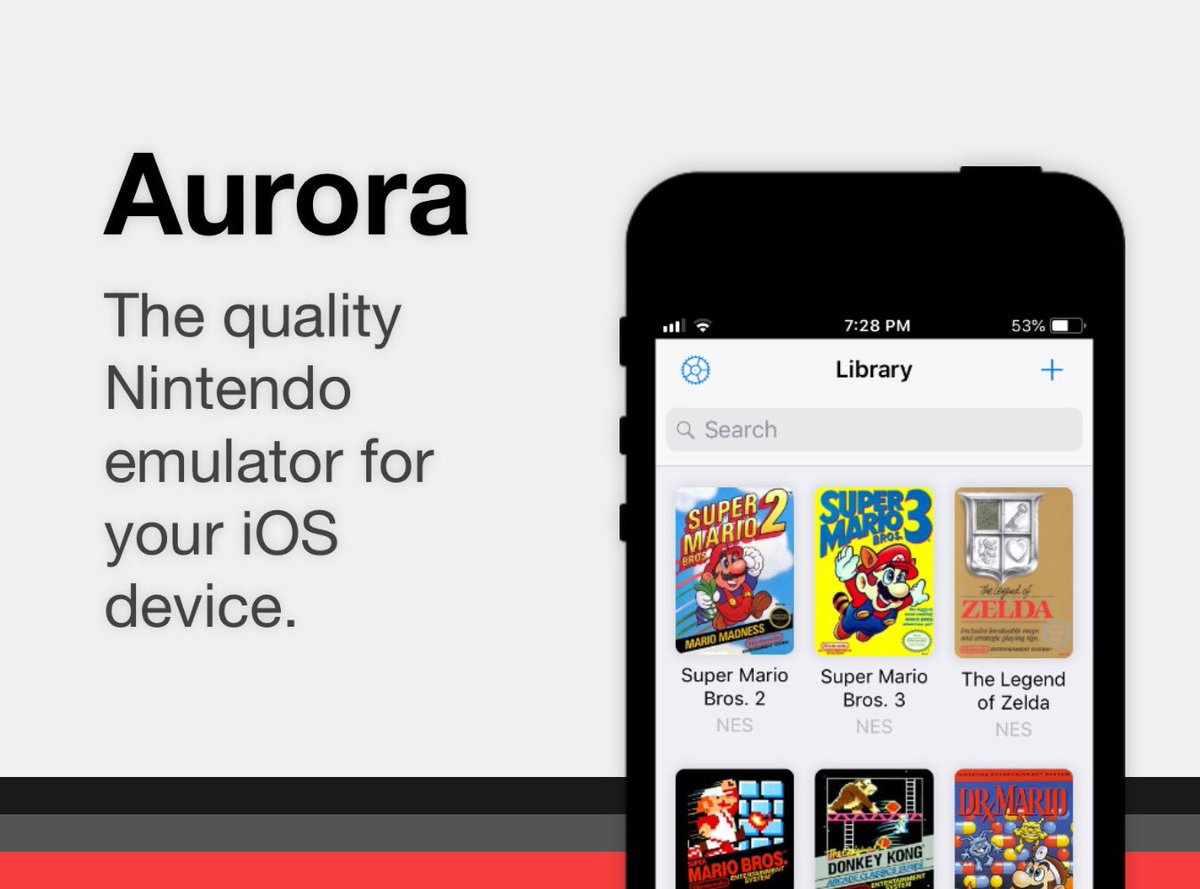Aurora emulator iOS